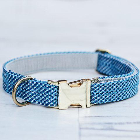 kletterseil-halsband-maritim-blau-weiss-ikarusdoodle