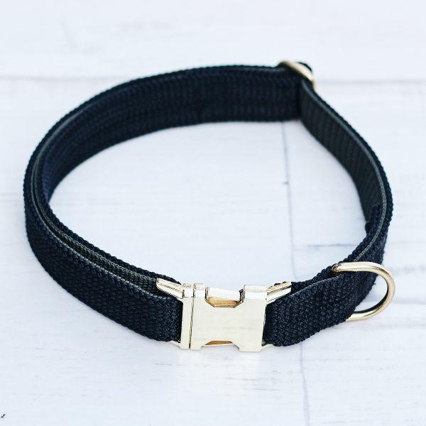 kletterseil-halsband-schwarz-steckschnalle-gurtband