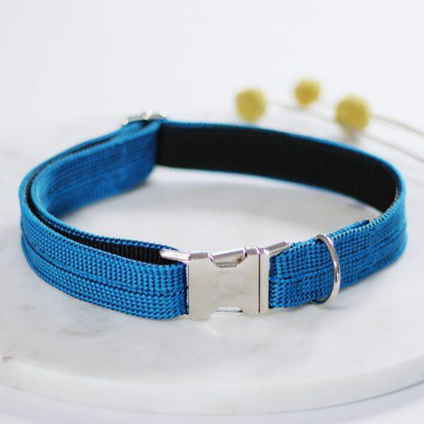 kletterseil-halsband-blau-steckschnalle-ikarusdoodle