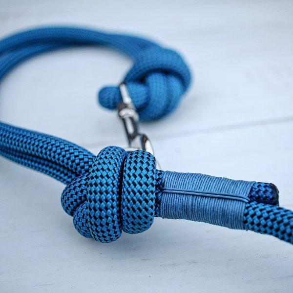 Hundeleine-kletterseil-blau