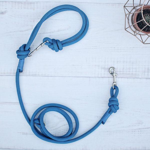 Hundeleine-kletterseil-blau-ikarusdoodle