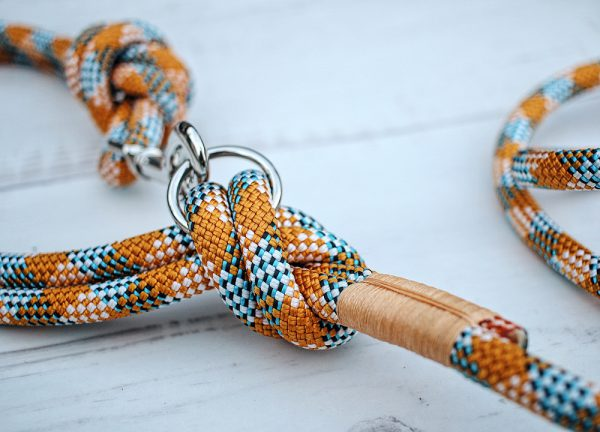 leine-Hundeleine-kletterseil-orange-blau