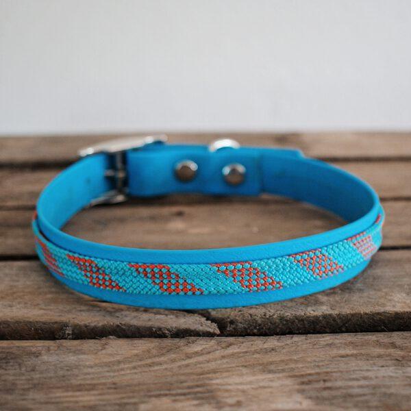 biothane-kletterseil-halsband-blau