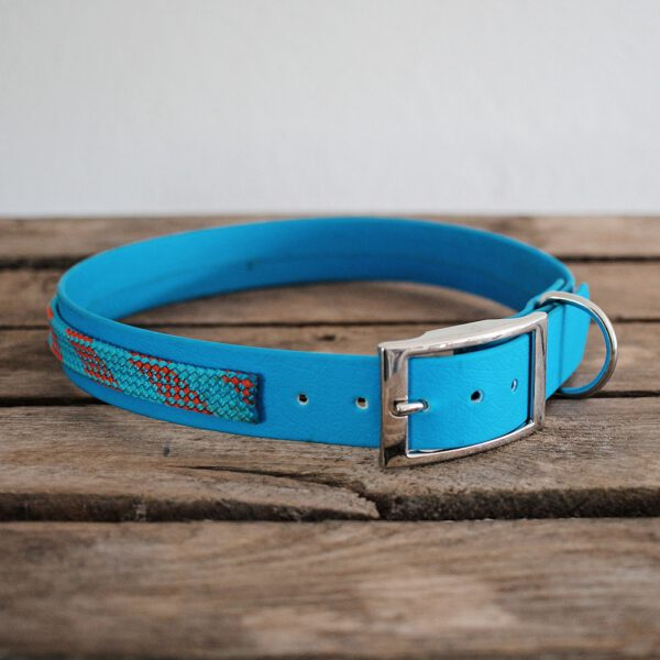 biothane-kletterseil-halsband-blau-rot