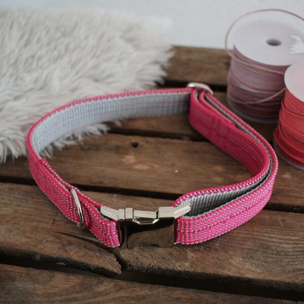 kletterseil halsband rosa pink