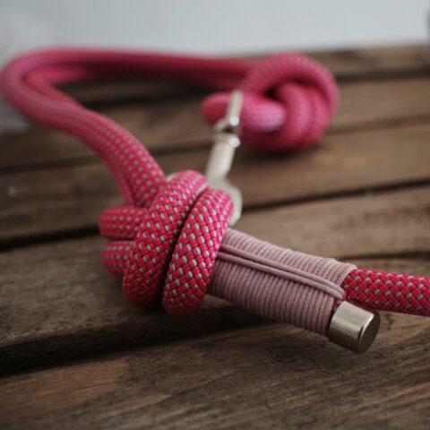 hundeleine-rosa-kletterseil-pink-lavende