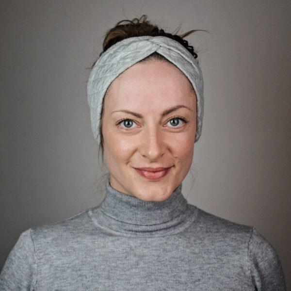 stirnband-grau-gesteppt