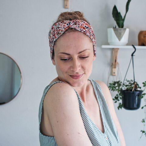 haarband blumen floral geblümt