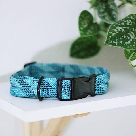 kletterseil-halsband-blau-steckschnalle