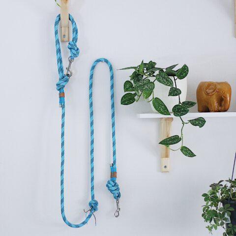 kletterseil-hundeleine-blau-gestreift-streifen